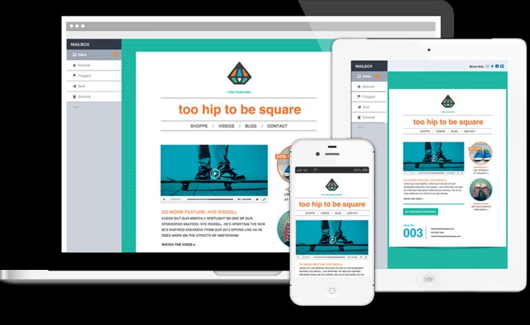 newsletters responsive, adaptados a dispositivos móviles