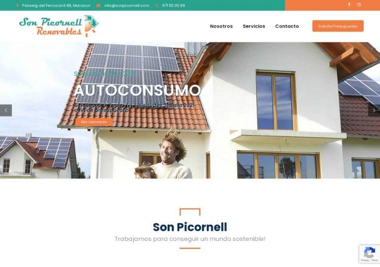 Energías Renovables y Autoconsumo - Son Picornell - Manacor