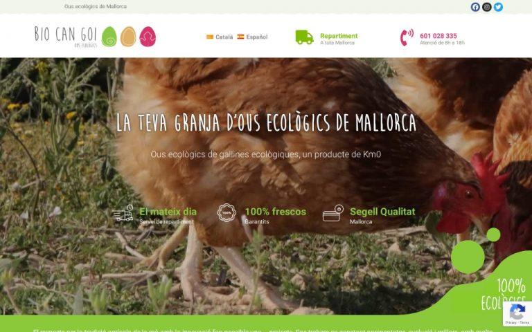 Tu granja de huevos ecológicos de Mallorca