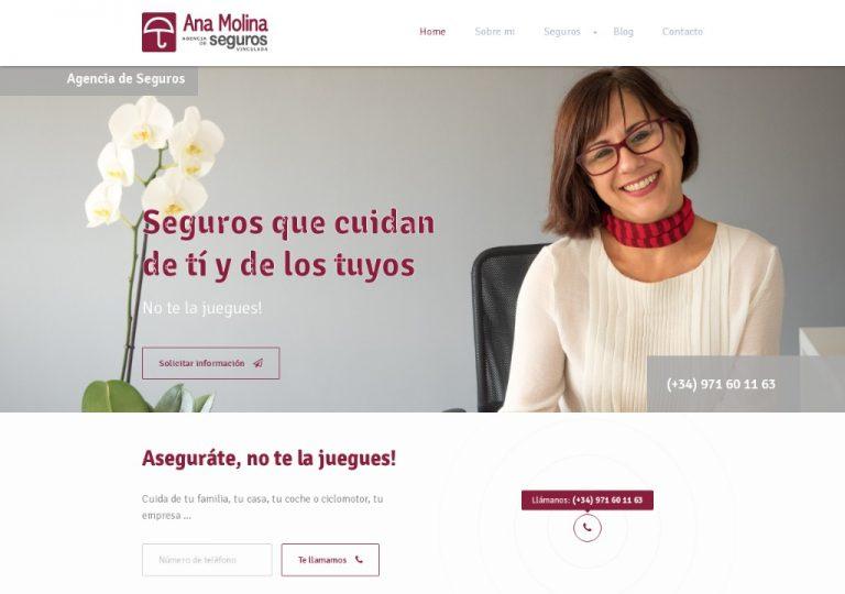 Ana Molina, Agencia de seguros en Marratxí