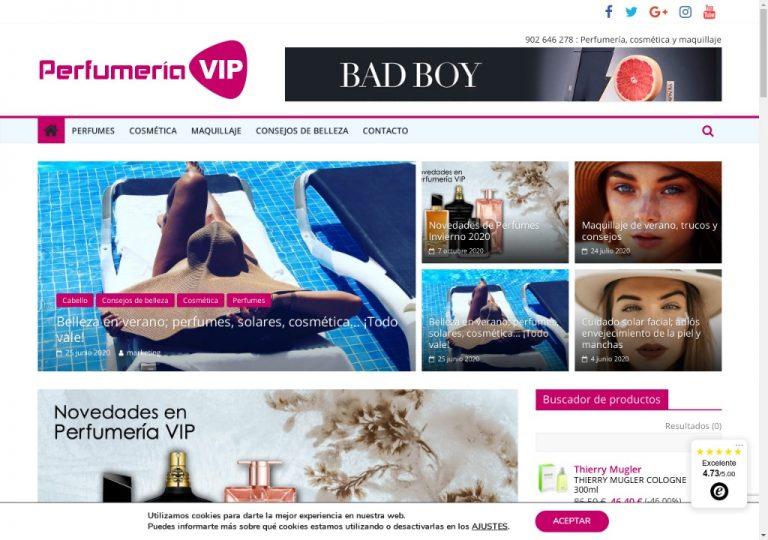 Blog de perfumes, cosmética y mauqillaje - Perfumería Vip