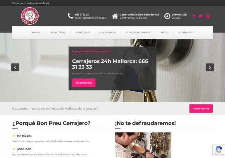 Cerrajero 666 31 33 33 - Cerrajeros Mallorca - Bon Preu