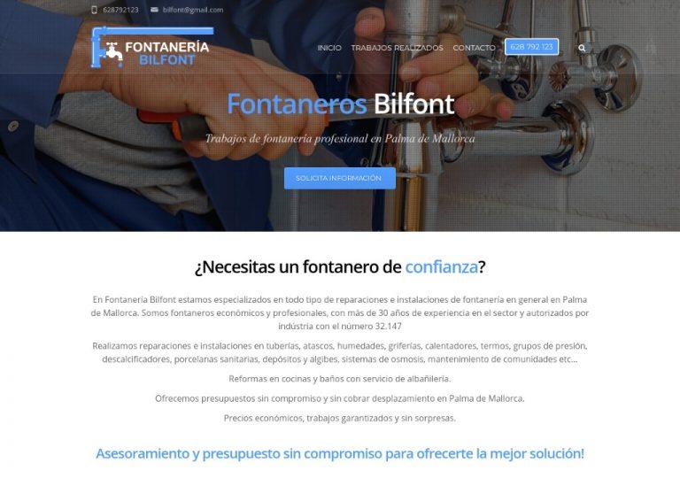 Fontanero Bilfont, Fontaneros en palma de mallorca