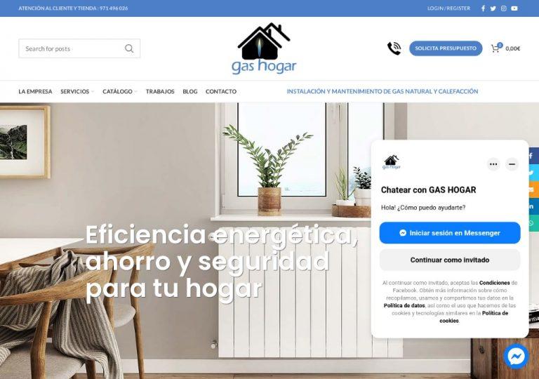 Gas Hogar - Gas, Calefacción y Aire Acondicionado