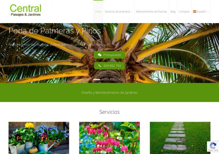 Mantenimiento de Jardines en Mallorca - Central Paisajes & Jardines