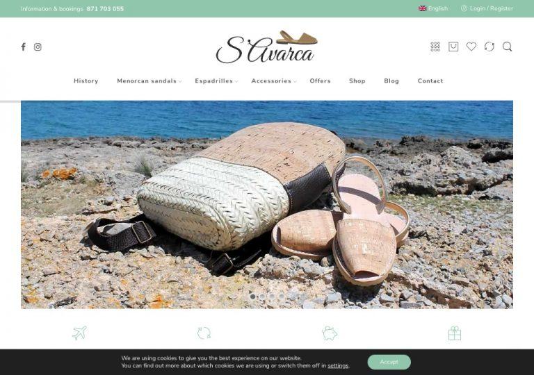 Tienda especializada en Avarcas, sandalias y alpargatas menorquinas