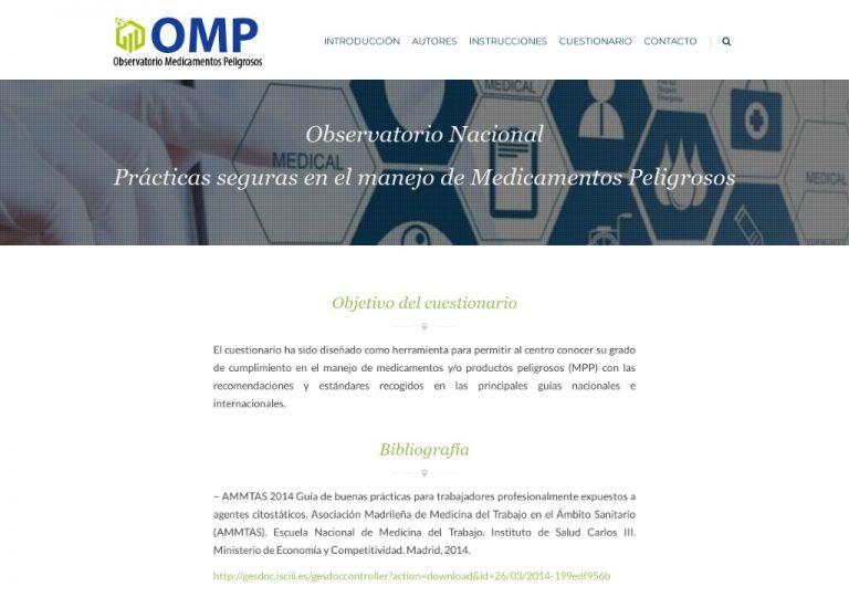 Observatorio Medicamentos Peligrosos – Observatorio Medicamentos Peligrosos, Hospital Son Espases