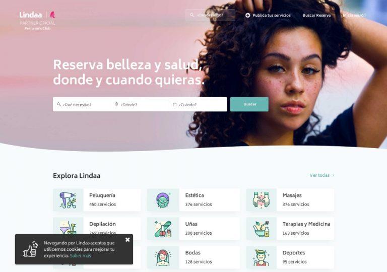 Plataforma de reserva de servicios de belleza y salud