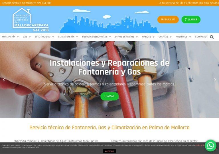 Servicio técnico Mallorca Repara - MallorcaRepara_ Calderas, Termos, Calentadores, Aire Acondicionado