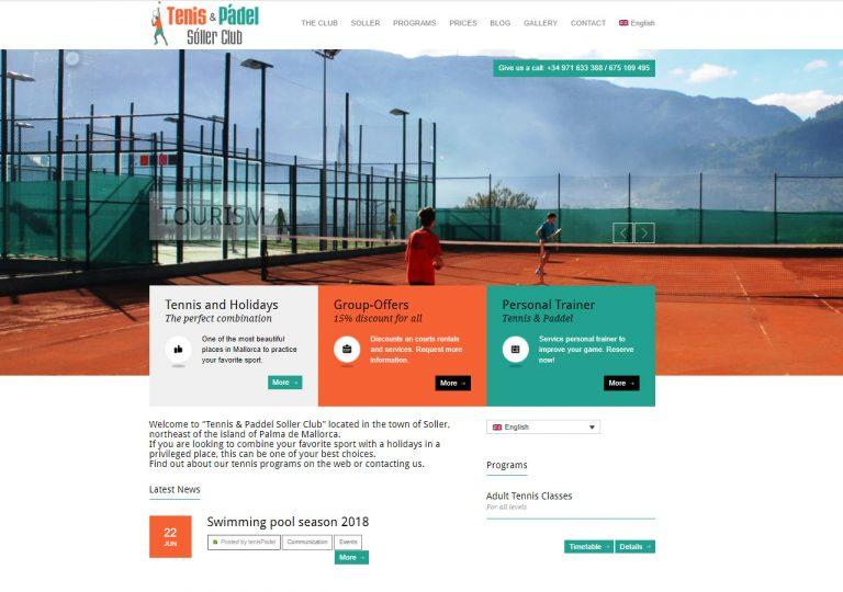 Tennis Club Sóller – El Club con mejores vistas de mallorca