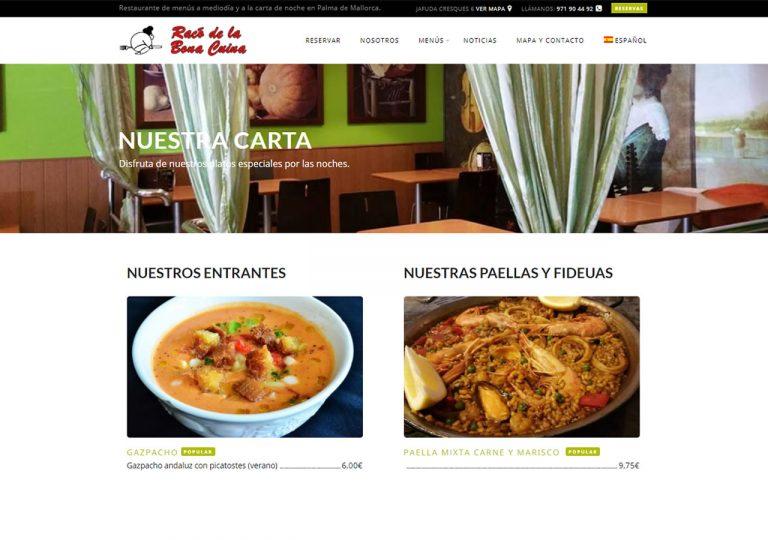 Racó de la bona cuina, tu restaurantes de menús en el centro de palma