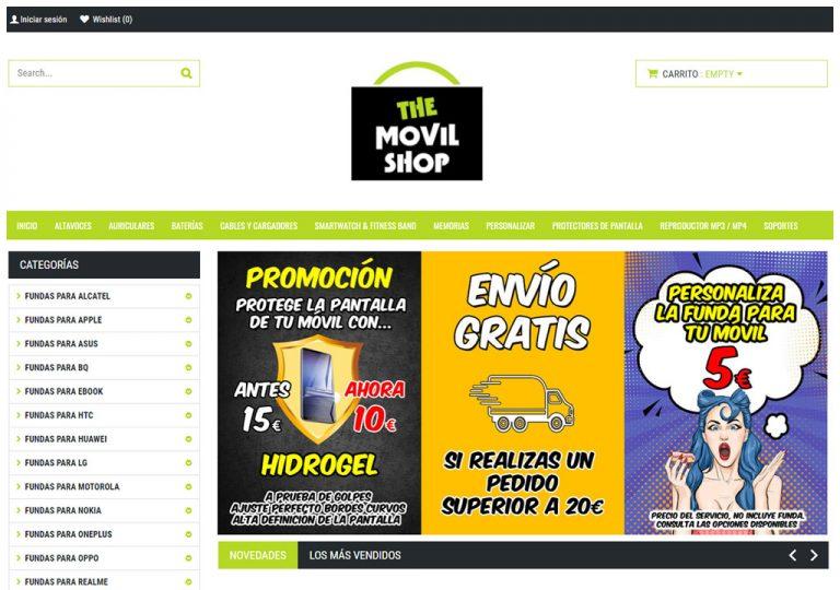 themovilshop. tu tienda de fundas y accesorios para el móvil